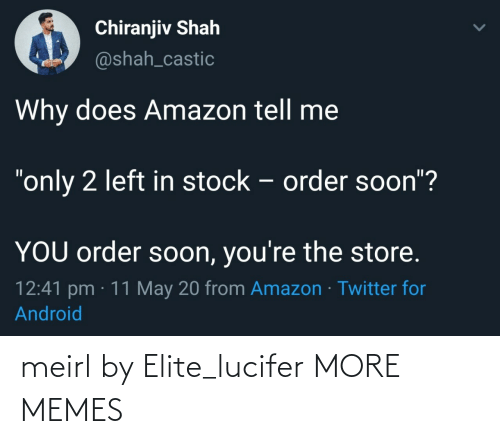 Lucifer: meirl by Elite_lucifer MORE MEMES