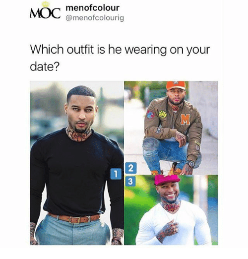 Menof Colour MOC Which Outfit Is He Wearing on Your Date