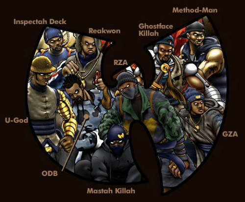 rza: Method-Man  Inspectah Deck  Reakwon Ghostface  RZA  U-God  GZA  ODB  Mastah Killah