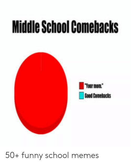 Middle School Memes: Middle School Comebacks  Tour mon  Good Comebacts 50+ funny school memes