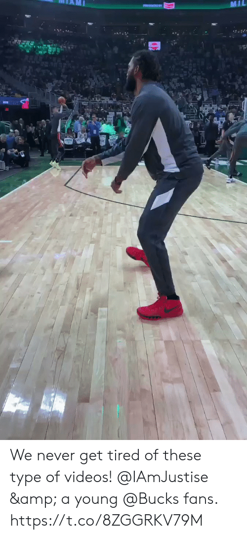 Memes, Videos, and Never: MIL  . We never get tired of these type of videos!   @IAmJustise & a young @Bucks fans.  https://t.co/8ZGGRKV79M