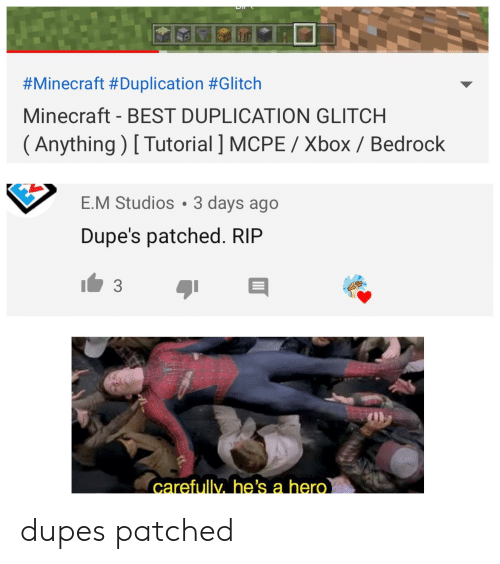 Minecraft #Duplication #Glitch Minecraft - BEST DUPLICATION