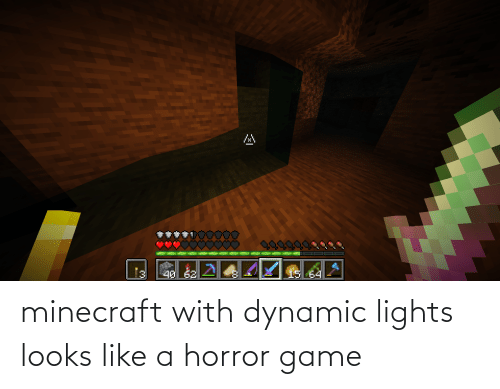 lights: minecraft with dynamic lights looks like a horror game