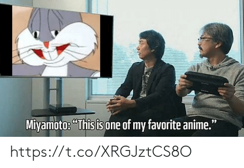"""Anime, One, and This: Miyamoto: """"This is  one of my favorite anime."""" https://t.co/XRGJztCS8O"""