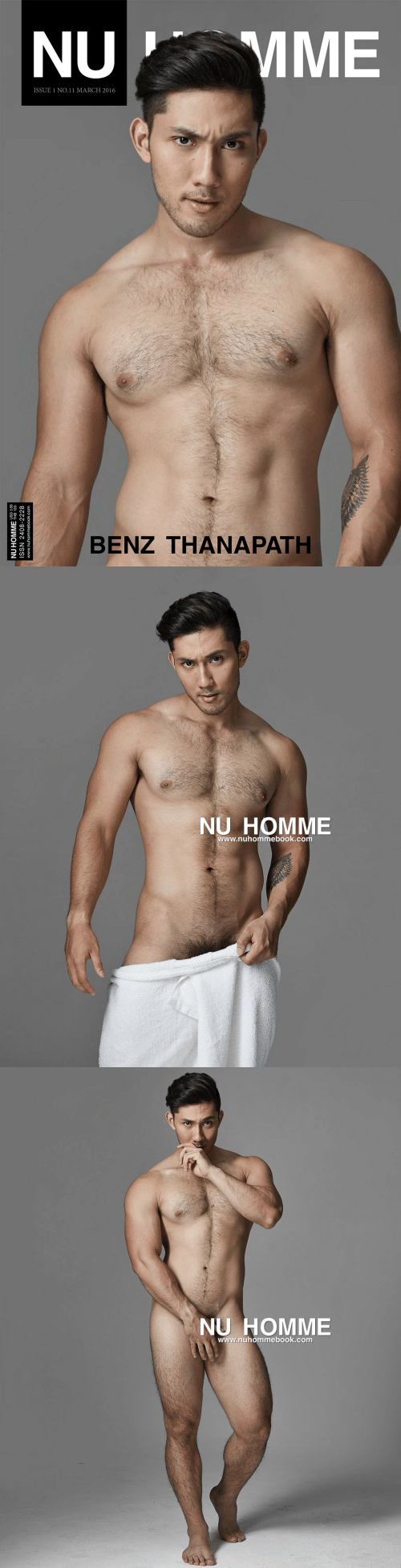 march: MME  NU  ISSUE 1 NO.11 MARCH 2016  BENZ THANAPATH  NU HOMME HB 120  ISSN 2408-2228  www.nuhommebook.com   NU HOMME  www.nuhommebook.com   NU HOMME  www.nuhommebook.com