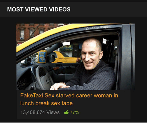 Taxi taping sex