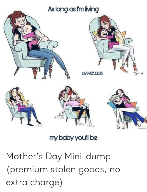 stolen: Mother's Day Mini-dump (premium stolen goods, no extra charge)