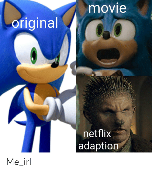 Netflix: movie  original  netflix  adaption Me_irl