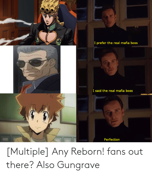 reborn: [Multiple] Any Reborn! fans out there? Also Gungrave