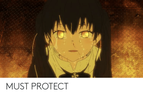 Anime, Protect, and Must: MUST PROTECT
