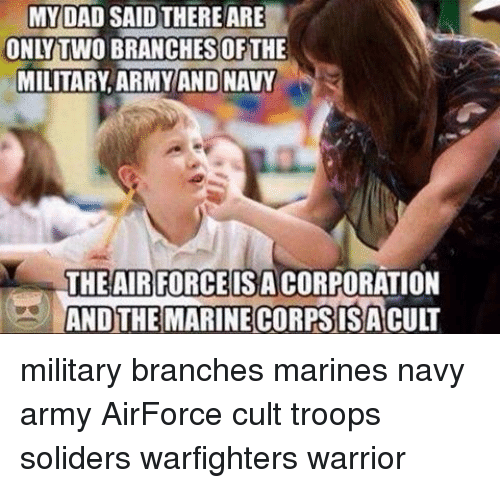 25+ Best Memes About Military Branches