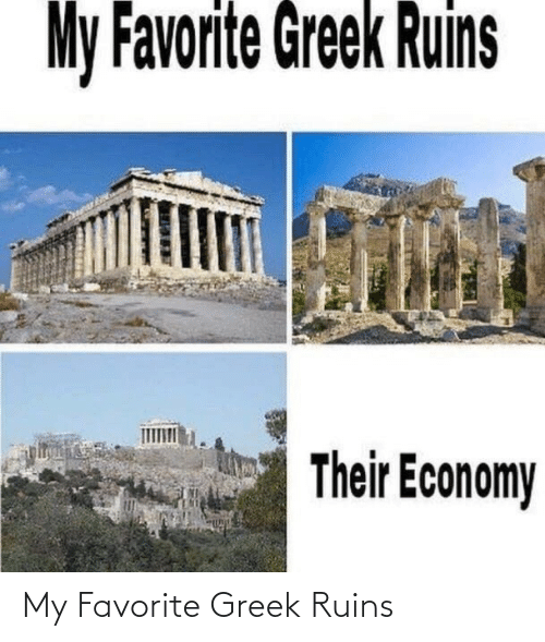 my favorite: My Favorite Greek Ruins