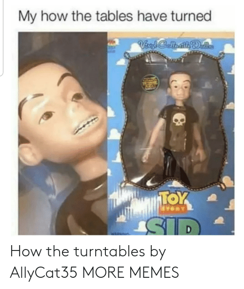 The Tables Have Turned: My how the tables have turned How the turntables by AllyCat35 MORE MEMES