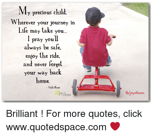 My Precious Child Wherever Your Journey In Life May Take You L Pray