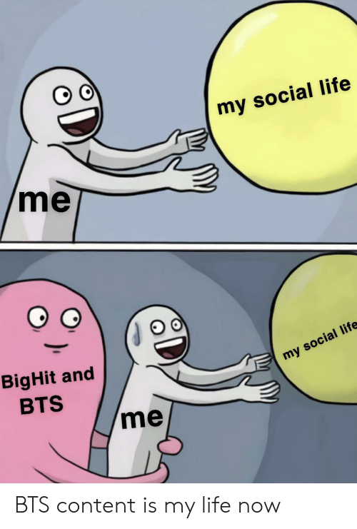 Life, Content, and Bts: my social life  me  BigHit and  my social life  BTS  me BTS content is my life now