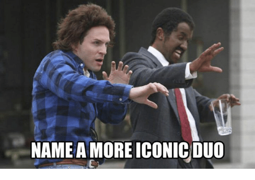 Memes, Iconic, and 🤖: NAMEA MORE ICONIC DUO