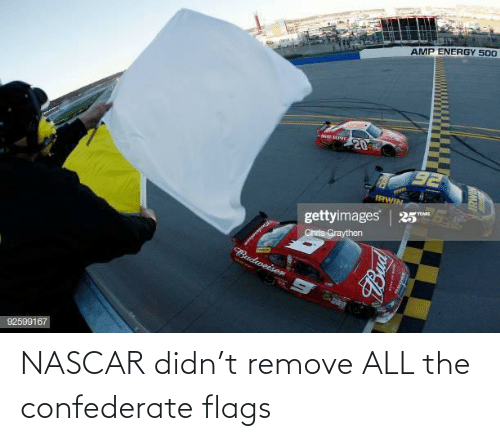 Confederate: NASCAR didn't remove ALL the confederate flags