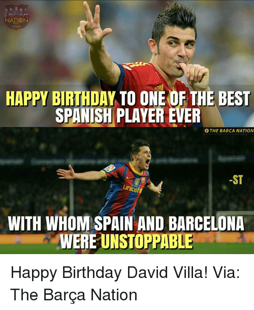 Nation Happy Birthday To One Of The Best Spanish Player Ever O The