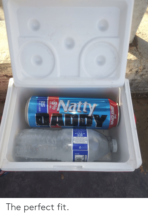 Crv: Natty  ALD  HI-CT:5 OR: 10  CA CRV  20  N11046  THE  BIG ONE  ITM.A  25  FL.OZ. LAGER The perfect fit.