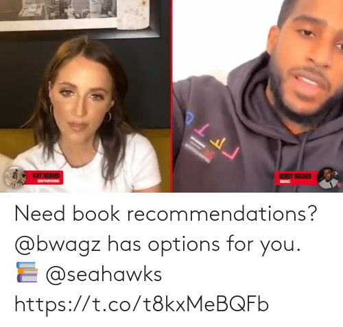 recommendations: Need book recommendations?  @bwagz has options for you. 📚 @seahawks https://t.co/t8kxMeBQFb