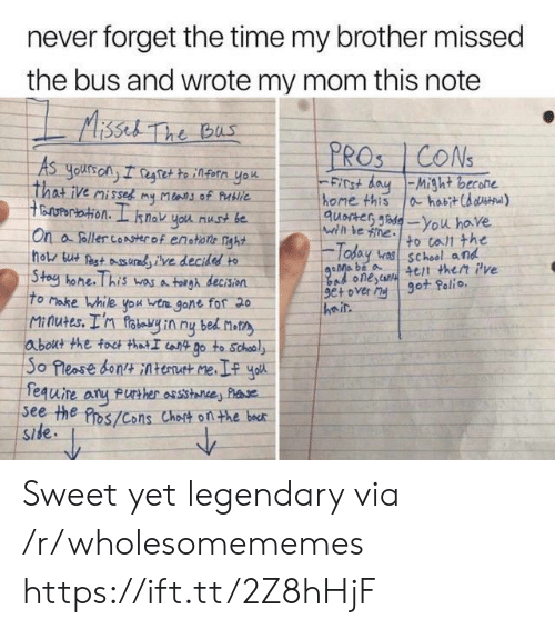 Assistance: never forget the time my brother missed  the bus and wrote my mom this note  Aissel The bus  PROS CONS  As  yours ony I regtette infern yok  That ive misses my Mlans of Publie  ertation. I  FICt dayMight becone  home this  quocter de-You have  ahabitCd d)  snok you nust be  Wihl le ne  On a foller coAserof enstione nght  hols but est udve decidesd to  Stoy hone. This wasa tolgh decision  To Make While you ta gone fof 20  Minutes. I'n foteyin ny bed not  about the foct thatI iot Do to School  So Pleose bontAtent me  fequire  see the Pros/Cons Chost onthe bocr  Side  to tall the  Today v school and  4et then Pve  got Polio.  Bad onescan  9e+ over My  heir  FUrther assistance Plse Sweet yet legendary via /r/wholesomememes https://ift.tt/2Z8hHjF