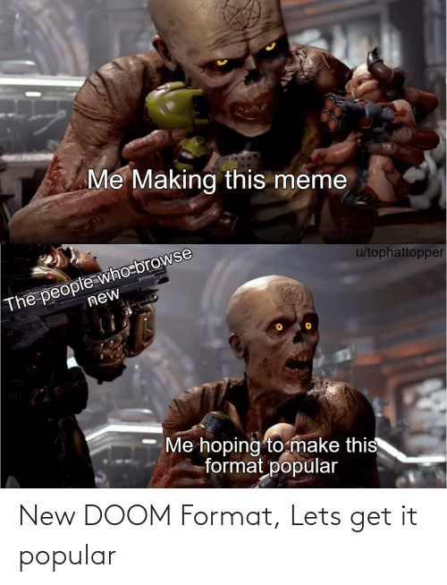 let's: New DOOM Format, Lets get it popular