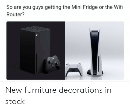 new: New furniture decorations in stock