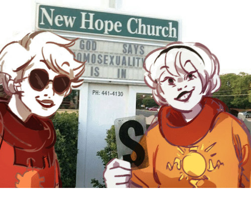 Church, Hope, and New: New Hope Church  MOSEXUALIT  IS IN  PH: 441-4130
