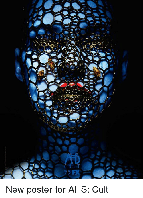 posterized: New poster for AHS: Cult