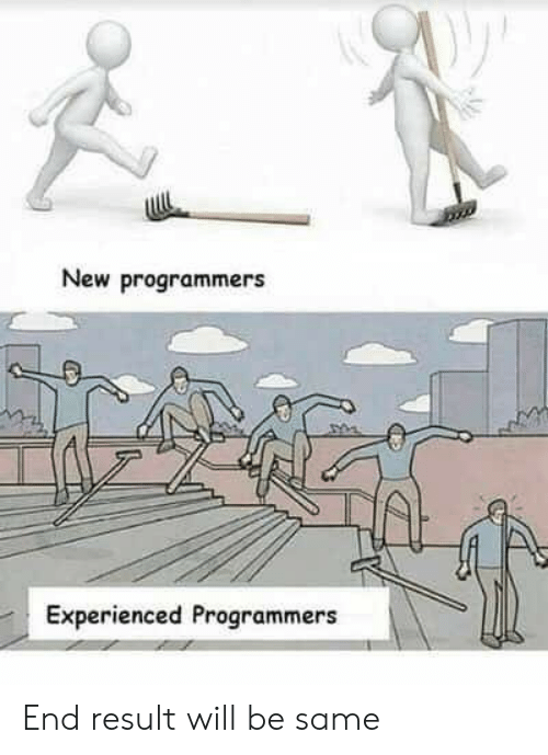 Will, New, and End: New programmers  Experienced Programmers End result will be same