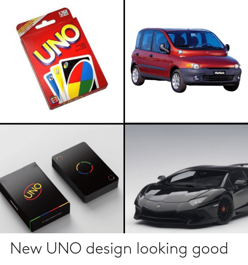 looking: New UNO design looking good
