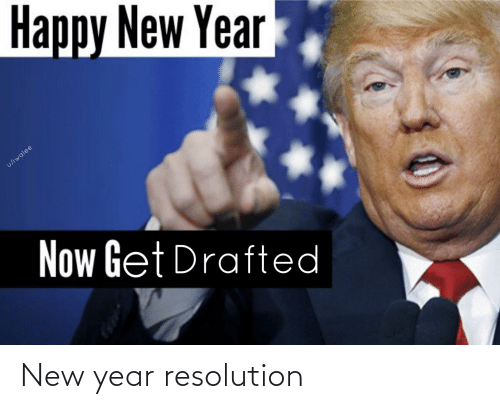 New Year Resolution: New year resolution