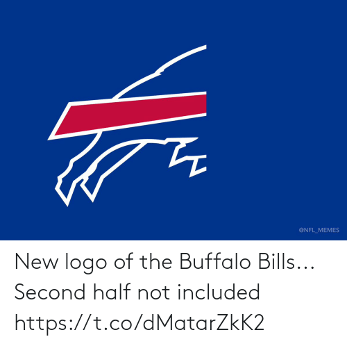 Second: @NFL_MEMES New logo of the Buffalo Bills...  Second half not included https://t.co/dMatarZkK2