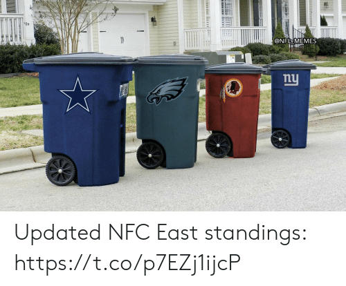 Updated: @NFL MEMES  nu  ট। Updated NFC East standings: https://t.co/p7EZj1ijcP