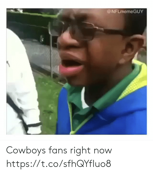 Dallas Cowboys, Football, and Nfl: @NFLmemeGUY Cowboys fans right now https://t.co/sfhQYfIuo8