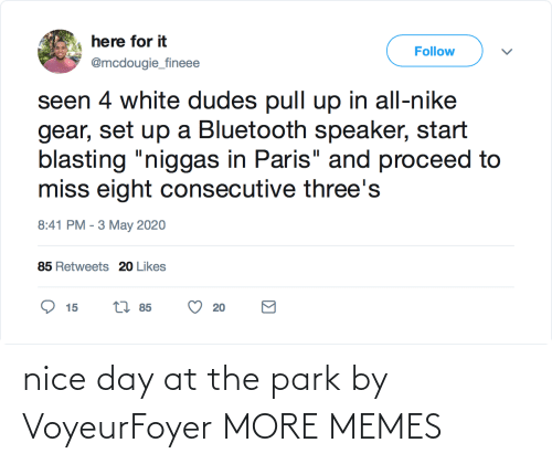 nice-day: nice day at the park by VoyeurFoyer MORE MEMES
