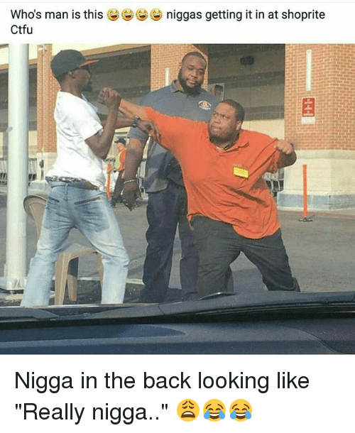 "shoprite: niggas getting it in at Shoprite  Who's man is this  Ctfu Nigga in the back looking like ""Really nigga.."" 😩😂😂"