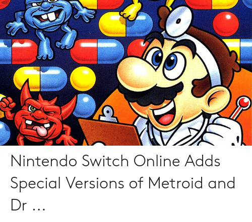 mario pictures: Nintendo Switch Online Adds Special Versions of Metroid and Dr ...