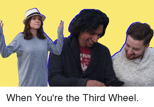 Memes, 🤖, and Wheels: NIUM When You're the Third Wheel.