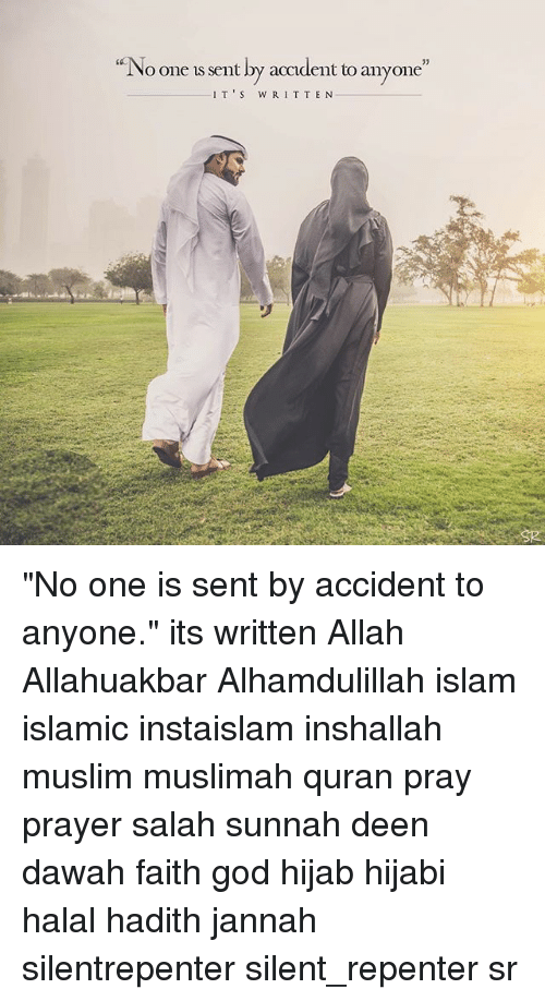 "halal: ""  No one is sent by accident to a  nyone""  35  IT'S WRIT TEN ""No one is sent by accident to anyone."" its written Allah Allahuakbar Alhamdulillah islam islamic instaislam inshallah muslim muslimah quran pray prayer salah sunnah deen dawah faith god hijab hijabi halal hadith jannah silentrepenter silent_repenter sr"