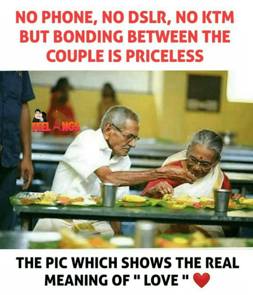 """Love, Memes, and Phone: NO PHONE, NO DSLR, NO KTM  BUT BONDING BETWEEN THE  COUPLE IS PRICELESS  THE PIC WHICH SHOWS THE REAL  MEANING OF """" LOVE"""" 。"""