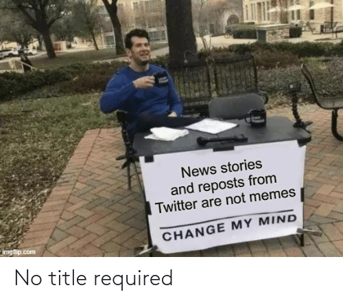 Required: No title required
