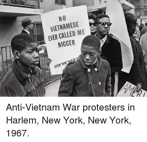 notes on anti vietnam war protests