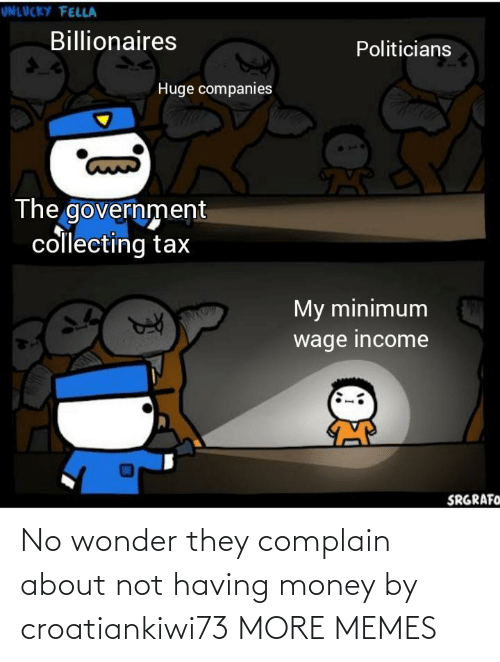 Having: No wonder they complain about not having money by croatiankiwi73 MORE MEMES