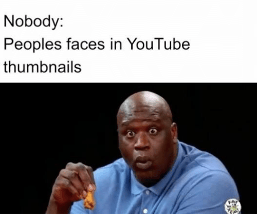 youtube.com, Nobody, and  Faces: Nobody:  Peoples faces in YouTube  thumbnails