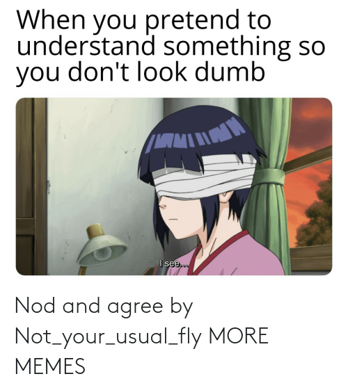 usual: Nod and agree by Not_your_usual_fly MORE MEMES