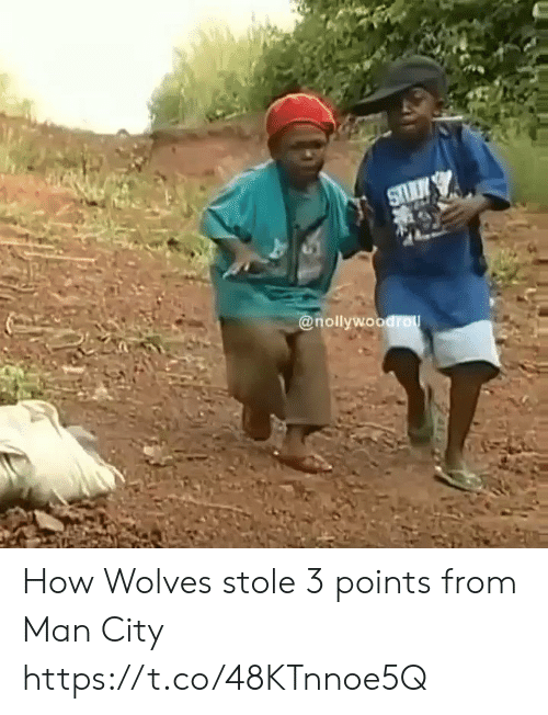 Wolves: @nollywoodro How Wolves stole 3 points from Man City https://t.co/48KTnnoe5Q