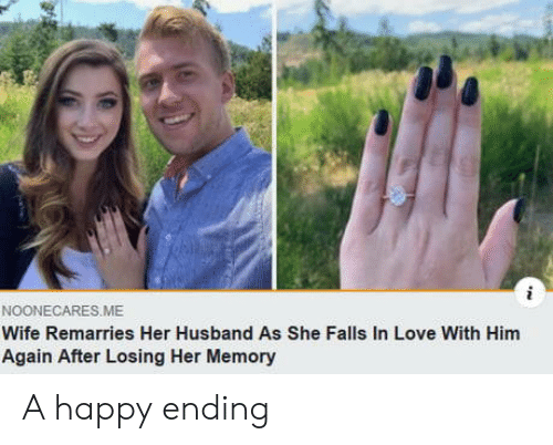 Again After: NOONECARES.ME  Wife Remarries Her Husband As She Falls In Love With Him  Again After Losing Her Memory A happy ending