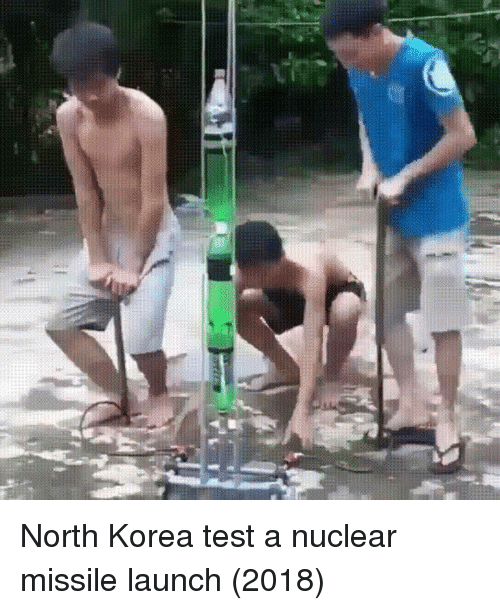 North Korea, Test, and Korea: North Korea test a nuclear missile launch (2018)