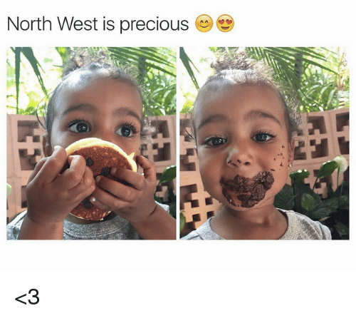 North West: North West is precious <3
